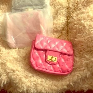 Other - Little Girls Pocketbook One Black/One Pink